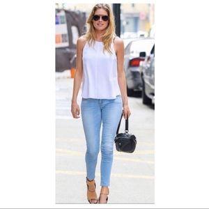 Frame Denim Le Skinny Jeanne Mira Vista Jeans